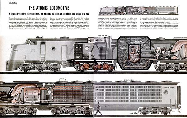 原子力機関車と原子力飛行機の開発史