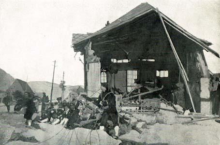 大正14年(1925)、北但馬地震 東南海地震、三河地震