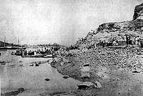 日清戦争、仁川に上陸