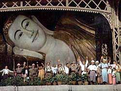 ビルマのラングーン占領