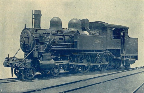 2B2蒸気機関車steamlocomotive