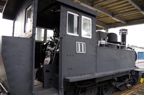 小坂鉄道11号蒸気機関車