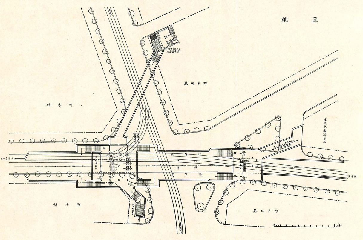 東京地下鉄道浅草停車場、浅草駅