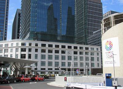 東京中央郵便局JPタワー