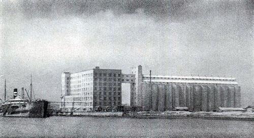 日清製粉鶴見工場