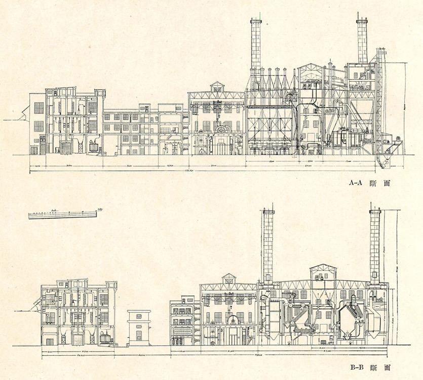 鉄道省東京汽力発電所