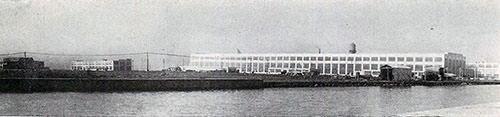 芝浦製作所(東芝)鶴見工場
